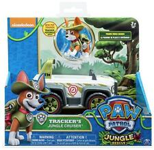 PAW Patrol Vehicle With Pup Tracker Toy Kids Figures Action Play Gift NEW UK
