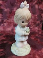 """Precious Moments #521329 """"HAVE I TOAD YOU LATELY THAT I LOVE YOU """" -1996 LE-NIB"""