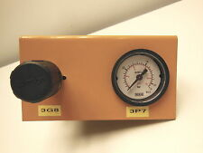 Samson 0.2 - 1.6 Bar pressure valve with EN 837-1 gauge