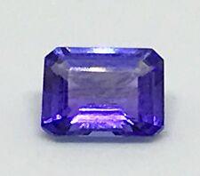 $1600 Natural 1.53ct Tanzanite Octagon Cut New Lavender Blue  Loose Gem USA