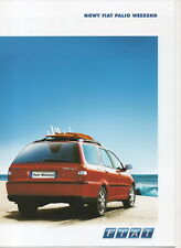 Fiat Palio Weekend car (made in Poland) _2003 Prospekt / Brochure