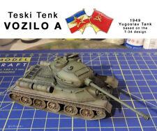 VOZILO A, Yougoslav T-34 variant, 1/72 scale; conversion