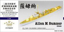 Five Star 700059 1/700 Allen M. Sumner Destroyer Upgrade Set for Midship/Pitroad