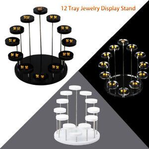 Mini Round Acrylic Cake Display Stand Jewelry Dessert Rack Party Cupcake Stand