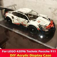 DIY Acrylic Display Case Transparent For LEGO 42096 Technic Porsche 911 RSR