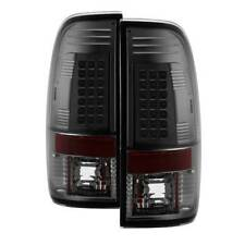 Spyder LED Tail Lights- Smoke For 97-07 Ford F150/250/350/450/550 SD #5003508
