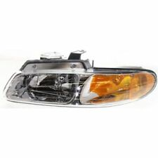 For Grand Caravan 96-99, Driver Side Headlight, Clear Lens