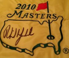PHIL MICKELSON Signed Autographed 2010 MASTERS Tournament Pin FLAG JSA Z03617