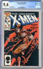 X-Men  #212   CGC   9.4   NM   White pages  12/86    Wolverine vs. Sabretooth