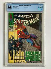 THE AMAZING SPIDER-MAN #65 Marvel CBCS 8.5 not CGC, John Romita cover