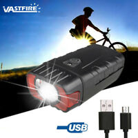 500LM XPG LED Road Bike Head Light USB Rechargeable Bicycle Front Lamp Torch Hot