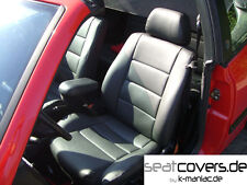 VW GOLF 3 CABRIO, MAß SITZBEZÜGE, SITZBEZUG, LEDERSITZBEZÜGE, LEDERSITZBEZUG