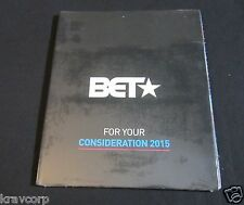 BEING MARY JANE/BOOK OF NEGROES—2015 PROMO 3-DVD BET CHANNEL SAMPLER—SEALED