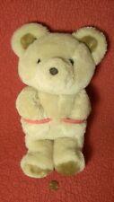 "Vintage 12"" Russ POCKETS TAN TEDDY BEAR HUG ME  plush stuffed animal toy 1984"