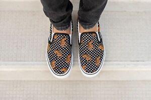 Vans Classic Slip-On Shoes Women's Size 8.5 Tiger Floral