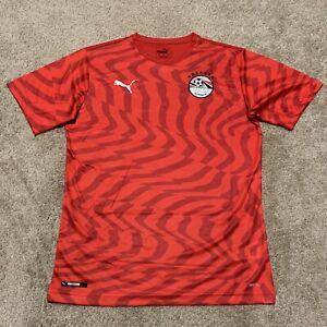 Puma Egyptian National Team FA Soccer Football Home Jersey Men's Size Medium NWT