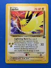 ZAPDOS 23 Black Star PROMO Pokemon Card NEVER USED/PLAYED NM-MINT