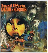 LP SOUND EFFECTS DEATH AND HORROR (BBC)