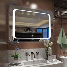 """31*22"""" LED Bathroom Wall Mirror Illuminated Lighted Vanity Mirror Backlit Mirror"""