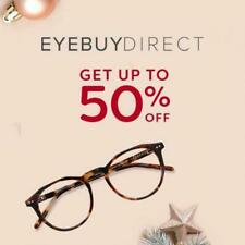 50% off coupon for EYEBUYDIRECT Online Glasses store