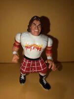 Hot Rod Rowdy Roddy Piper WWF Hasbro Wrestling Action Figure WWE 90s Retro Vtg