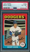 1975 Topps Set Break # 294 Geoff Zahn PSA 6 *OBGcards*
