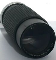 Hoya HMC Close Focus Zoom 100-300mm 1:5.6 Lens & case - Made in Japan Untested