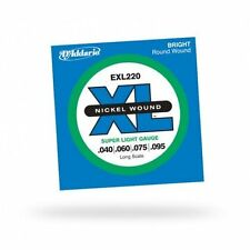 D'addario Exl220 XL Nickel Wound Super Light 40-95
