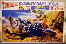Thunderbird Excavator & Pilot Set, Aoshima 8713
