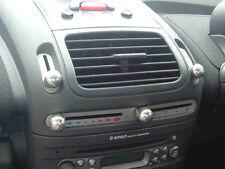 MCC SMART CAR ALLOY ALUMINIUM HEATER CONTROL CAPS X 4