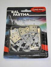 REAVERS MARINES!!  Ral Partha Miniature 02-200!!  New+Sealed!!
