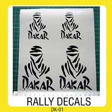 Dakar Rally Off Road Decal Stickers 4x4 off road Land Rover Honda Paris