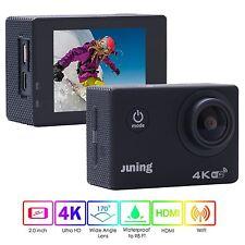 Action Kamera 4K WiFI Ultra HD 2 Zoll Display 1080P Pixel /170° W Sport - Cam