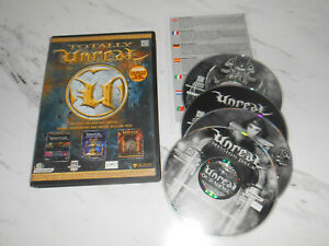 Totally Unreal PC Game CD-Rom Original Unreal, Unreal Tournament + Mission Pack