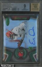 2016 Certified Mirror Green Emmanuel Ogbah RC Rookie AUTO 4/5 BGS 9 w/ 10