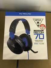 Turtle Beach Recon 70 Black/Blue Headset for Sony PlayStation 4