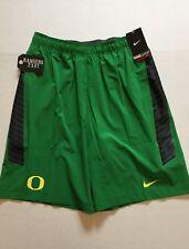 Nike Oregon Ducks Speed Vent Shorts Apple Green 623062 Mens Size S