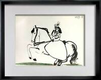 "Pablo PICASSO Lithograph LIMITED Edition ""10.3.59 IX"" w/ Cat. Ref. C112 + FRAME"
