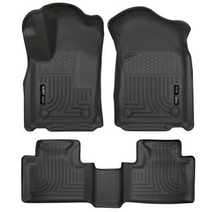 HUSKY 99051 WeatherBeater Front Rear Floor Mats for 11-15 Jeep Grand Cherokee
