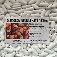 "GLUCOSAMINE SULPHATE 1500mg  360 TABLETS      ""The Vitamin"" FREE P&P       (L)"