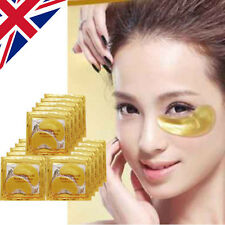 100Pairs Crystal Collagen GOLD Anti-Wrinkle Anti-Ageing Under Eye Gel Patch Mask