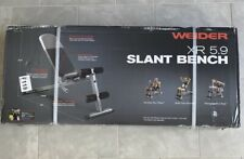 Weider XR 5.9 Adjustable Slant Workout Bench Newest Version Fast Ship