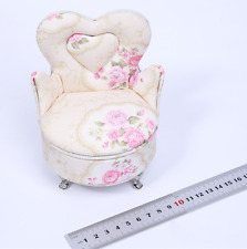 1/6 soldier model furniture fittings pink sofa, single person sofa