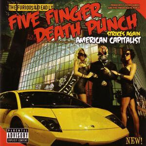 FIVE FINGER DEATH PUNCH --- AMERICAN CAPITALIST (CD)