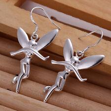 Free Shipping 925 Silver Fashion Jewelry lovely Angel Women Earrings EA193