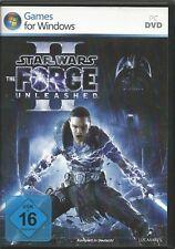 Star Wars: The Force Unleashed II (PC, 2012, DVD-Box) MIT Steam Key Code