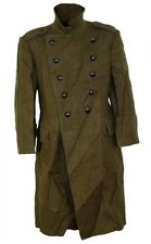 1) medium Eastern Military Long Wool Button Down Coat, Jacket Army Surplus