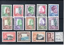 Dominica - (02) - 1938 - definitives selection to 10/-d - mint - SG Cat £65