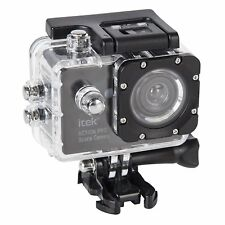iTek I67002 1080p Action Camera Waterproof Design - Black
