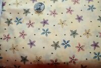 Mumm's The Word  Debbie Mumm for South Sea Imports Quilt Fabric 1.5 Yds
